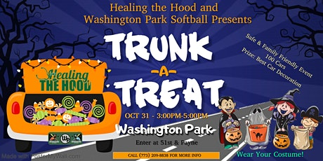 Healing The Hood and Washington Park Softball presents Trunk -A-Treat tickets