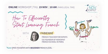 [ONLINE] How to efficiently start learning French tickets