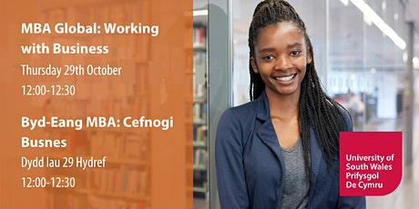 MBA Global: Working with Business | Byd-Eang MBA: Cefnogi Busnes tickets