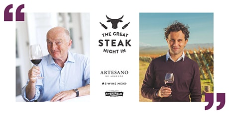 Oz Clarke's Great Steak Night In with Bodega Argento tickets