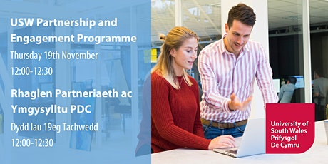 USW Partnership & Engagement Programme | Rhaglen Partneriaeth & Ymgysylltu tickets