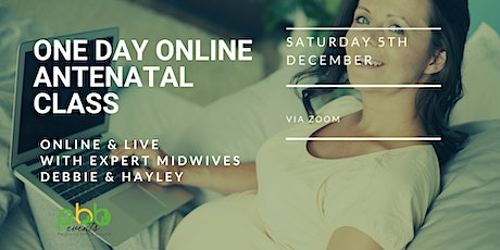 One Day online  Antenatal Class tickets