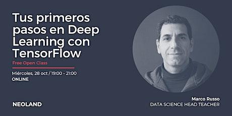 Tus primeros pasos en Deep Learning con TensorFlow entradas