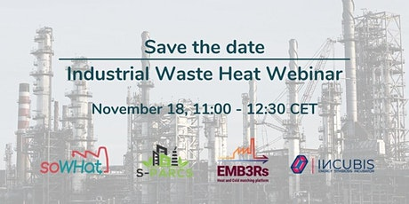 Webinar on Industrial Waste Heat Recovery tickets