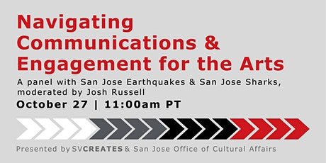 Navigating Communications & Engagement for the Arts  / Part 2 tickets