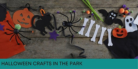 Halloween Crafts In The Park - AFTERNOON tickets