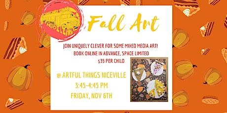 Kids Fall Art tickets