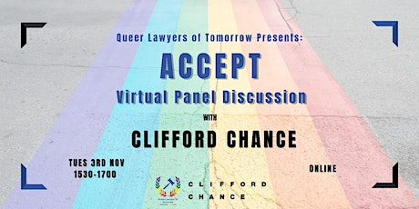 Queer Lawyers of Tomorrow: ACCEPT Virtual Panel Discussion tickets