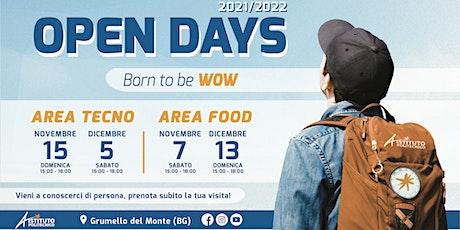 OPEN DAY 2021 ISTITUTO POLITECNICO - AREA FOOD tickets