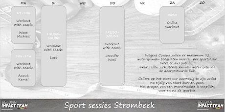 Sport maandag 26/10 - 20u billets