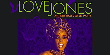 Love Jones: An R&B Halloween Party tickets