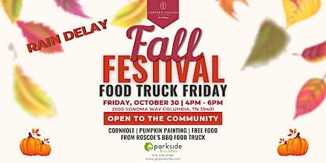 Fall Festival Food Truck Friday tickets