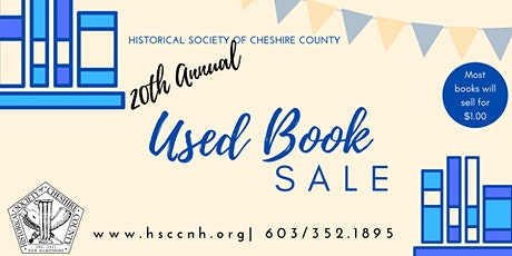 Used Book Sale -exclusive entry opportunity tickets