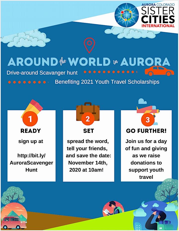 Around the World In Aurora Scavenger Hunt image