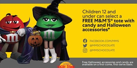 Mars Wrigley Presents M&M'S Halloween Truck Tour tickets