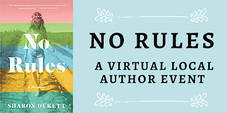 No Rules: A Virtual Local Author Event tickets