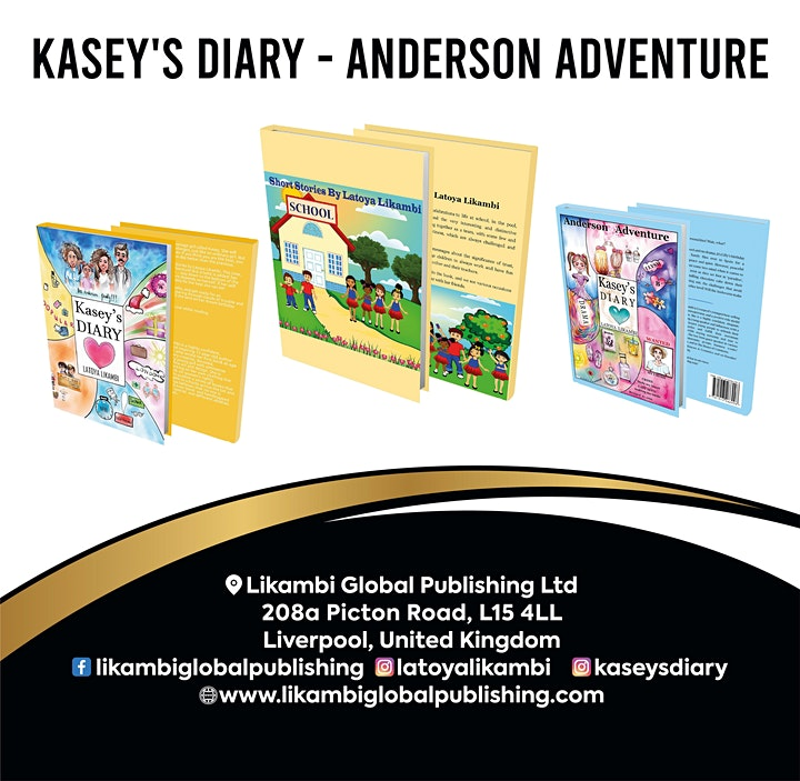 VIRTUAL BOOK LAUNCH OF ANDERSON ADVENTURE image