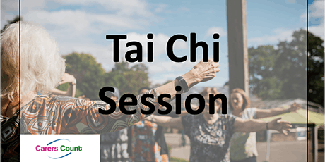Tai Chi/Meditation Session 5th November 11:00 - 11:30 tickets