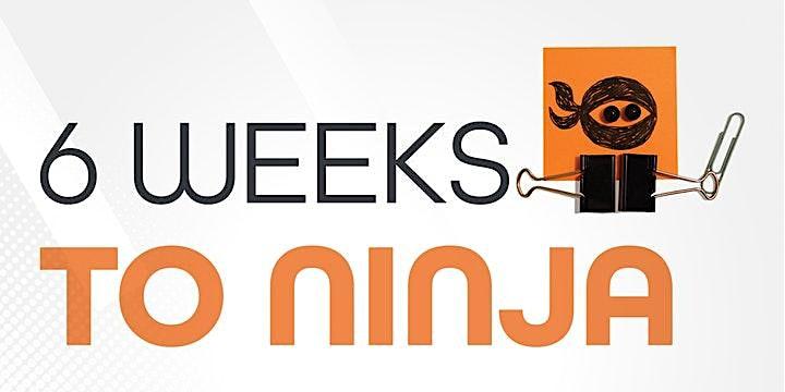 6 Weeks to Ninja: Productivity Ninja Online Masterclass image