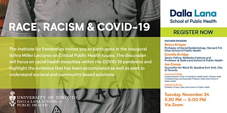 Race, Racism, and COVID-19 tickets