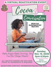 Cocoa and Conversation tickets