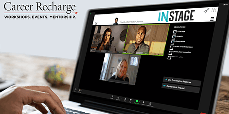 Career Recharge: InStage Live – Selling Your Ideas tickets