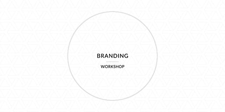 Branding Workshop Tickets