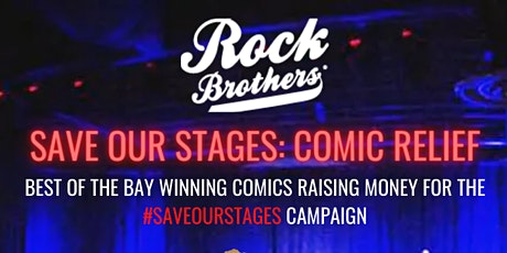Save Our Stages: Comic Relief tickets