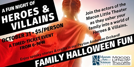 Heroes & Villains Ramble - A Family Halloween Event tickets