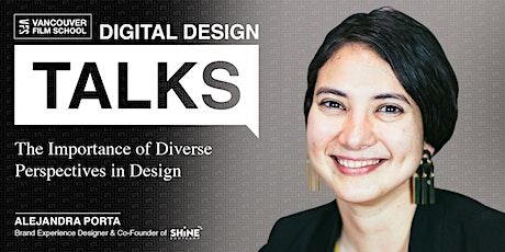 VFS Digital Design Talks featuring Alejandra Porta tickets