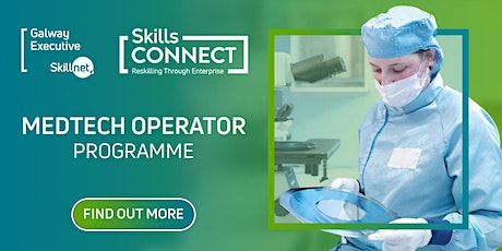 MedTech Operator Programme - Information Session tickets