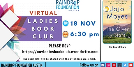 November Ladie`s Book Club tickets