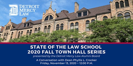 State of the Law School - 2020 Fall Town Hall Series tickets