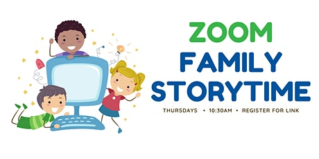 Zoom Family Storytime tickets