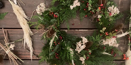 Fresh wreath workshop at Fortune Gallery tickets