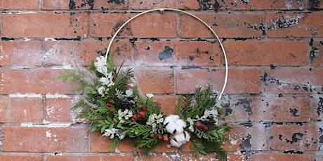 DIY Holiday Wreath Workshop tickets