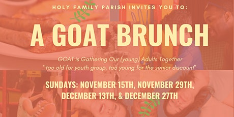 GOAT: Gathering Our (young) Adults Together tickets