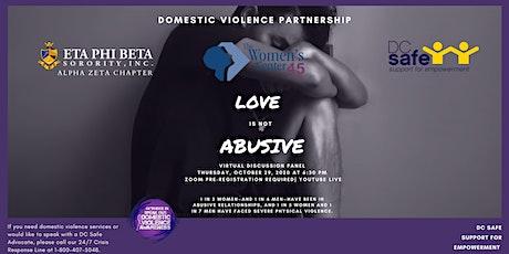 ETA PHI BETA SORORITY DC Domestic Violence Awareness Panel Discussion tickets