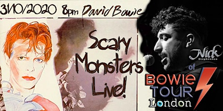 Scary Monsters... coming this Halloween!! tickets