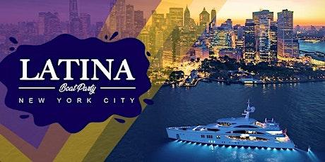 LATINA BOAT PARTY CRUISE  NEW YORK CITY .   great VIEWS