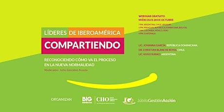 Experiencias Significativas en la Nueva Normalidad: Líderes de Iberoamérica entradas