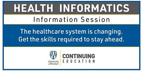 Health Informatics - Information Session tickets