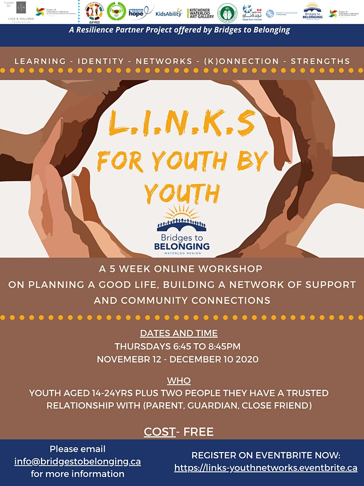 LINKS-Virtual Experience for Youth-Create a Network of Supportive Relations image