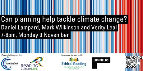 Can planning help tackle climate change? (Reading Climate Festival) tickets