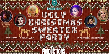 Ugly Christmas Sweater Drag Show tickets