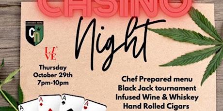 Casino Night: Cigars+Wine+Whiskey tickets