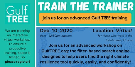 Gulf TREE Train the Trainer Workshop - Tallahassee tickets