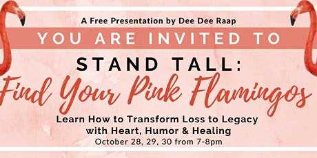 Stand Tall: Find YOUR Pink Flamingos tickets