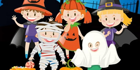 FREE VIRTUAL HALLOWEEN PARTY FOR KIDS  tickets