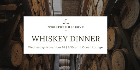 Woodford Reserve Whiskey Dinner tickets